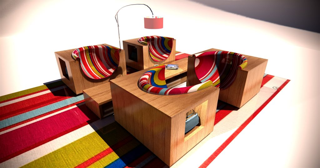 Collection pour hôtel par Frédéric TABARY, design de mobilier, design produit, designer