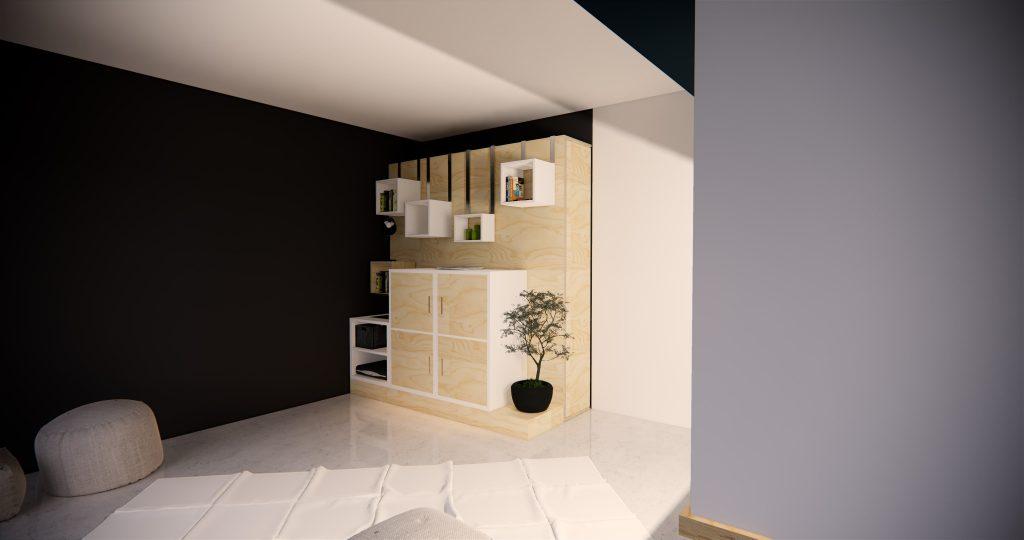 Cloison mouv, design, designer , Frédéric TABARY, concepteur, architecte, 3D, rendus, TABARY, mouv, architecte, architecture