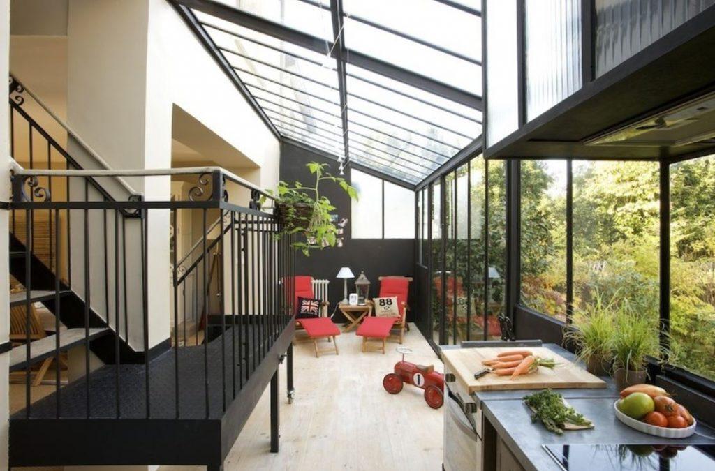 Maison à escalier roulant, escalier, roulant, designer, designer produit, architecte, industriel, acier, bois, structure, architecte, architecte d'intérieur, intérieur, TABARY, Frédéric TABARY