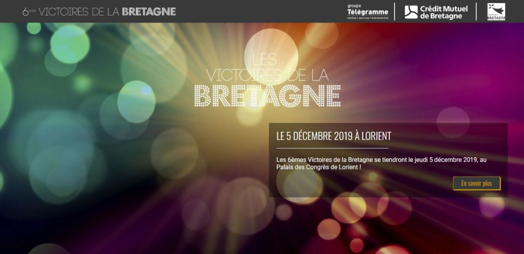 Nomination aux victoires de la Bretagne : lé projet de Frédéric TABARY désigner Nantais