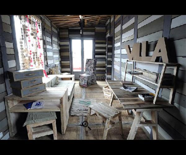 La Villa déchets par Frédéric TABARY Designer