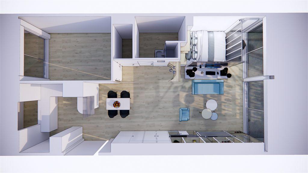 rationalisation des espaces : la mission de l'architecte d'intérieur