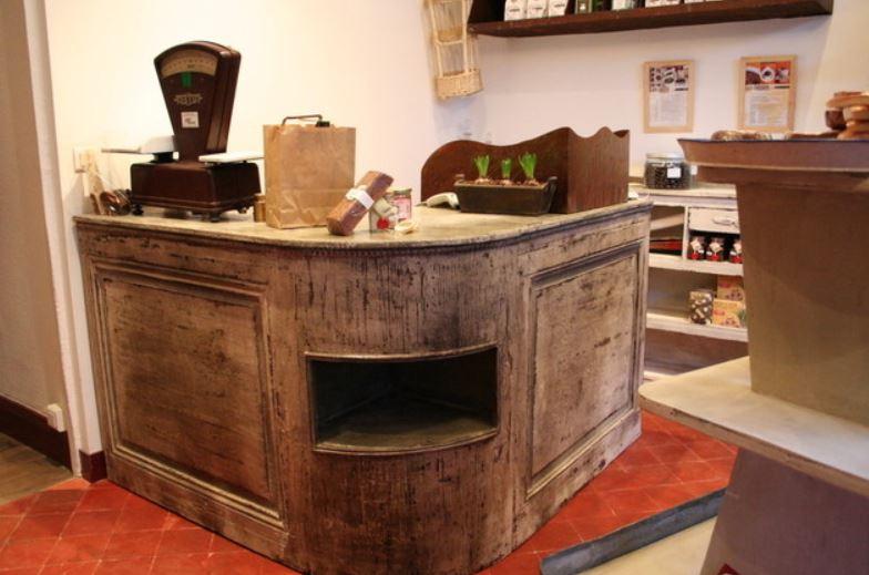 Meuble d'épicerie neuf vieillit et patiné par Frédéric TABARY : Patiner vos meubles